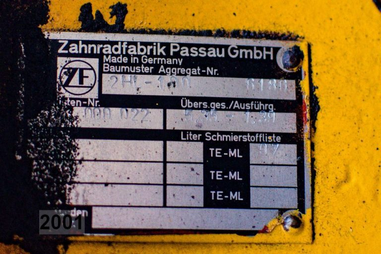 Gearbox ZF 2HL-100