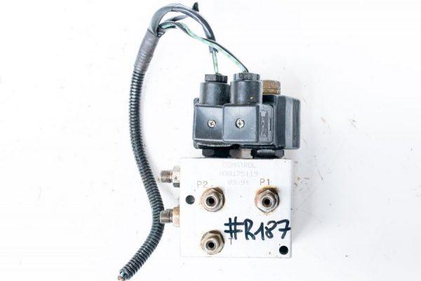 Kostka COMATROL + cewki zawór rozdzielacz hydrauliczny