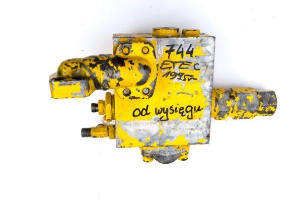 Kostka Etec 744 1995r zawór rozdzielacz hydrauliczny