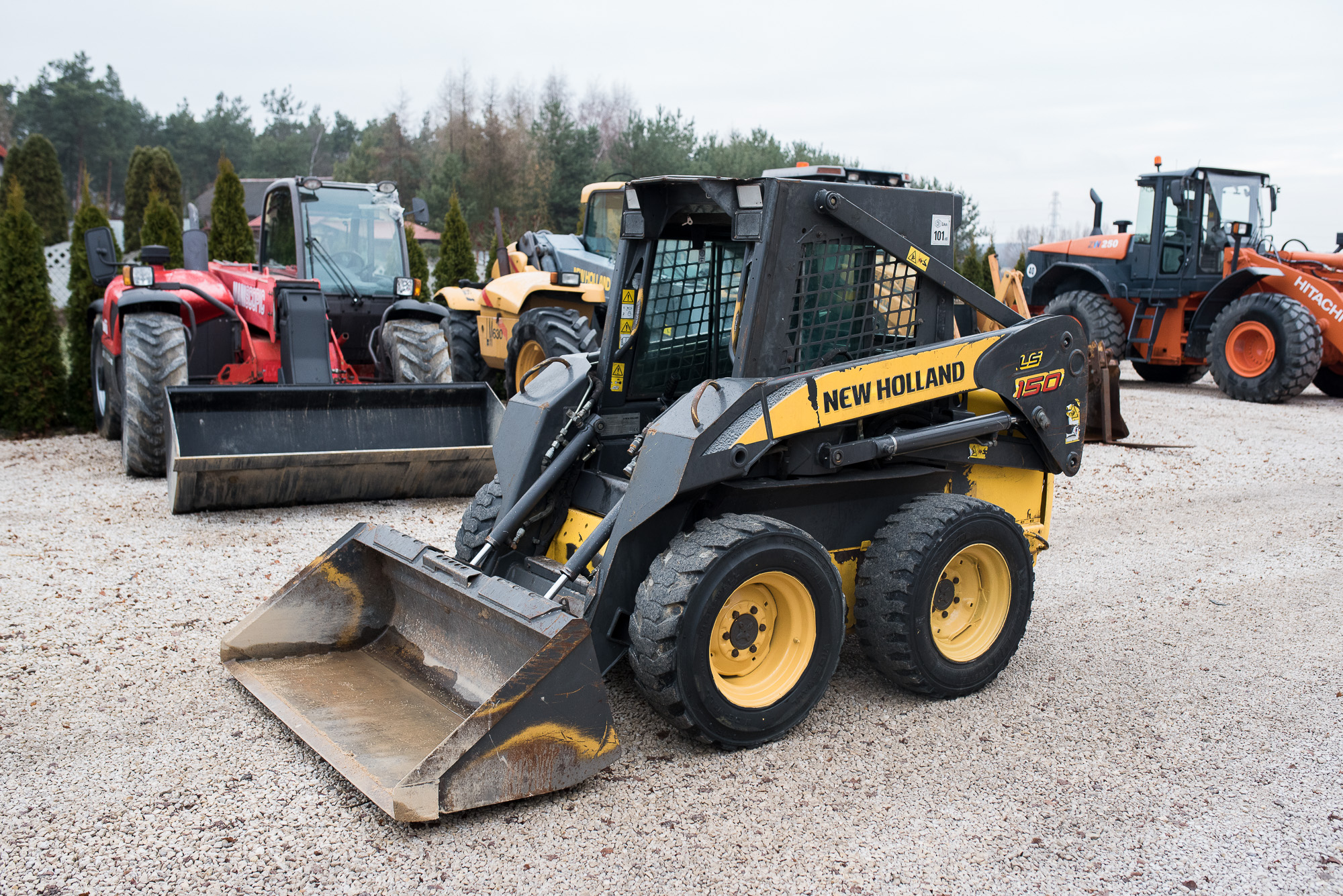 New Holland LS 150 Ls160 Bobcat Cat Manitou